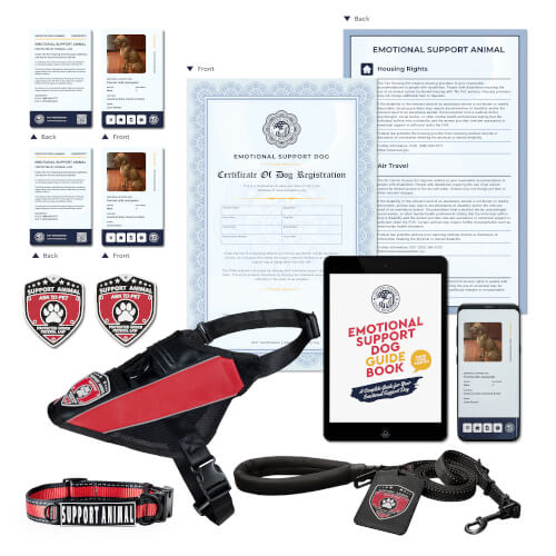 Emotional Support Dog Deluxe Kit
