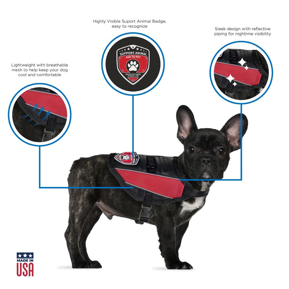 Emotional Support Dog Vest - US Dog
