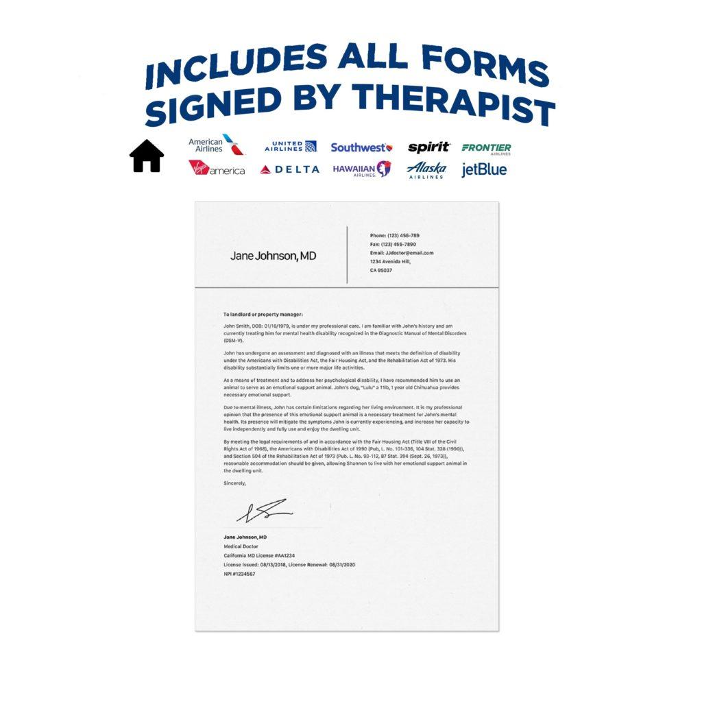 signed esa letter